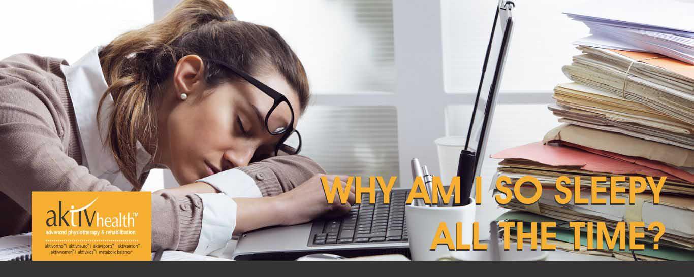 Why Am I So Sleepy All The Time?